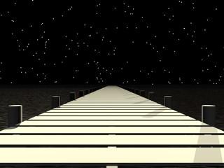 route naar de hemel