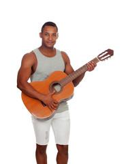 Latin men with a guitar