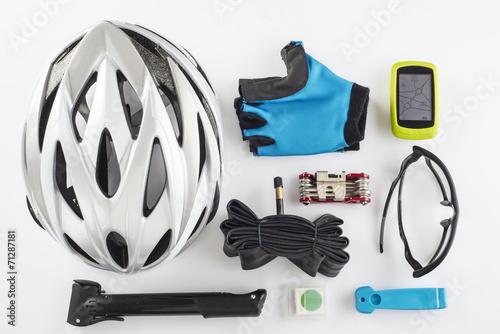 Aluminium Wielersport Protección seguridad GPS ciclismo casco guantes gafas