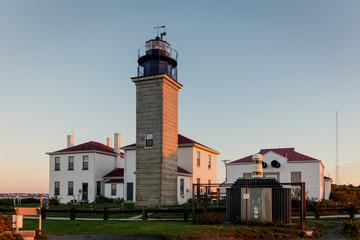 Beavertail Lighthouse at Dawn