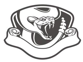 snake emblem vintage