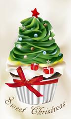 Sweet Christmas_cupcake