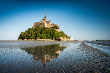 Abbey Mont Saint Michel, Normandy, France