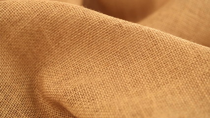 blank jute canvas background (dolly shot)