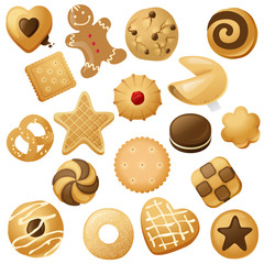 cookie icons