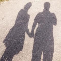Paar Schatten