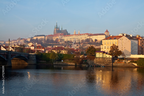 Poster View of Prague Castle
