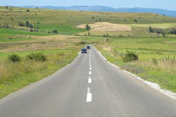 Straight Road Crosses Pester Plateau, Serbia