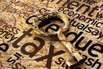 Golden key on tax