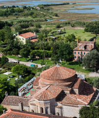 View from the bell tower of Torcello