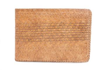 Snake skin vintage wallet