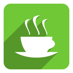 coffee cup flat icon