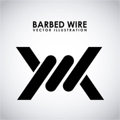 barbed wire design