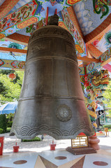 Big Bell in Chinese temple,Thailand