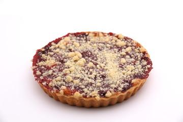 Homemade  pie with cherry