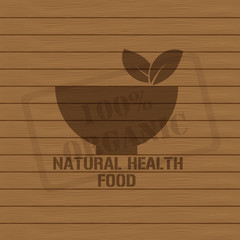 Eco Organic food Stamps - Illustration