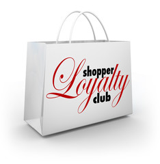 Shopper Loyalty Club Shopping Bag Promotion Rewards Program