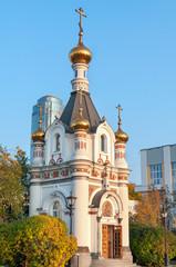 The chapel of Saint Great Martyr Ekaterina, Yekaterinburg