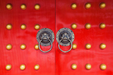 Old chinese doors.