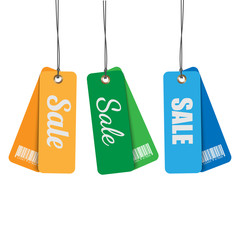 tags for sale.