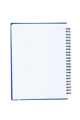 blank notebook isolate on white background