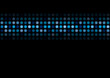 Bright shiny lights vector background