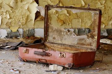 old broken suitcase 3
