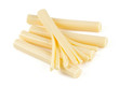 string cheese isolated on white - 71303972