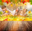 Family Autumn Background