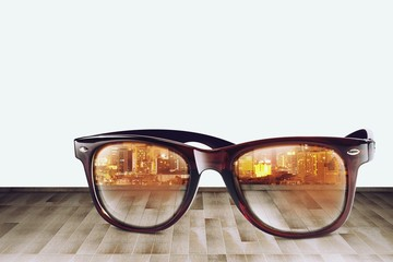 City Refect on Sunglass III