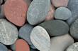 canvas print picture - colorful pebbles