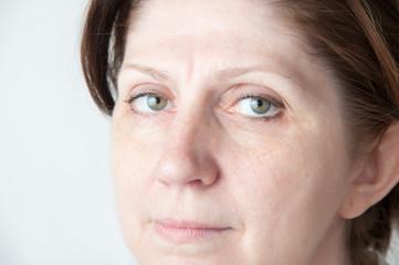 Portrait of an adult woman.