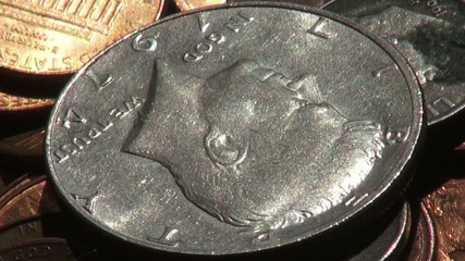 Coins, USA, United States, Money, Currency
