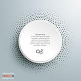 White Paper Infographic Halftone - 71305557