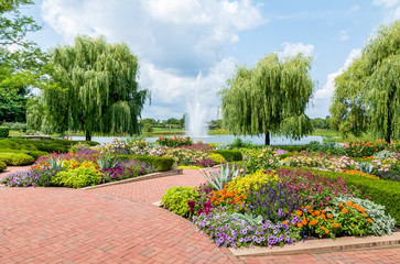 Chicago Botanic Garden, USA