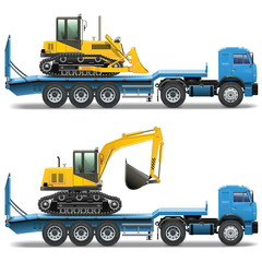 Vector Trailer with Tractor