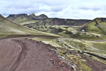 Hochlandstraße von Island