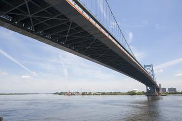 Benjamin Franklin Bridge, Philadelphia in Pennsylvania