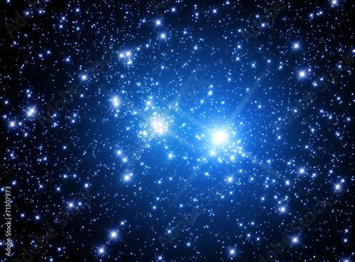Supernova explosion.