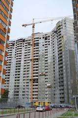 Строительство жилого высотного дома