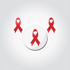 red ribbon, aids day awareness ,december