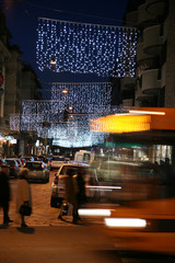 Luminarie a Milano