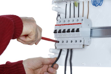 Kabel befestigen