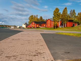 Kemi town in Finland