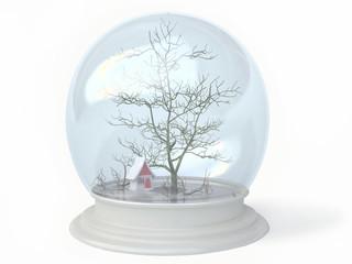Winter in a Snow Globe