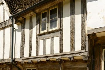 wattle house detail , Lacock