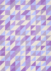 Abstract geometrical violet background