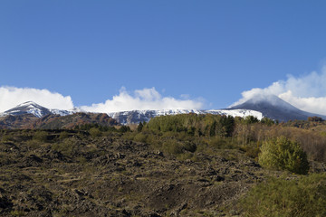 Versante sud est Etna