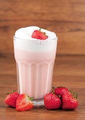 Erdbeeren Milchshake