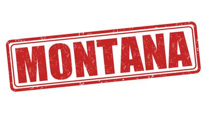 Montana stamp